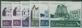 NZ SG2678-83 150th Anniversary of First Official Parliament in New Zealand set of 6